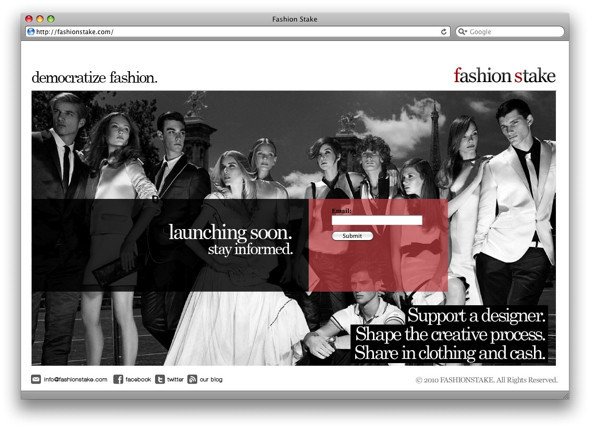 Демократизация моды: Fashion Stake. Изображение № 1.