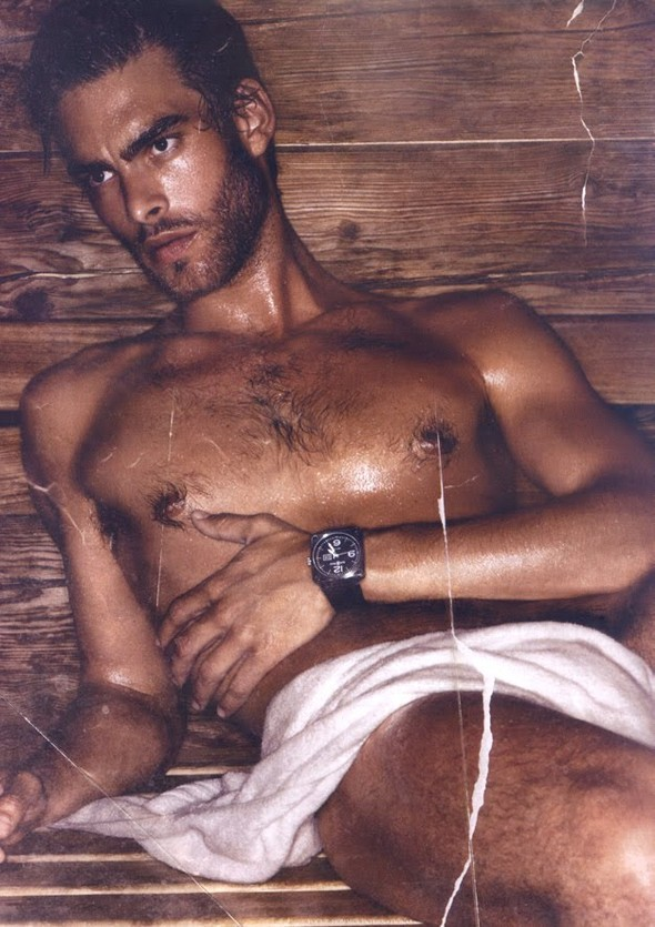 Jon Kortajarena in Vogue Hommes Int. by Mikael Jansson. Изображение № 5.