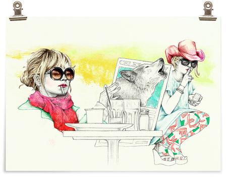 Иллюстратор Лиса Лева. Изображение № 8.