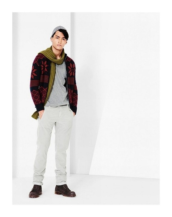 Лукбук: United Colors of Benetton Fall 2011 Menswear. Изображение № 15.