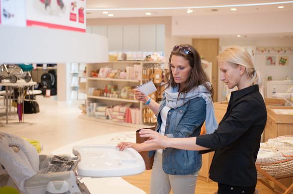 Первый магазин Mamas&Papas открылся  в Москве, в ТРЦ «Европейский» . Изображение № 6.