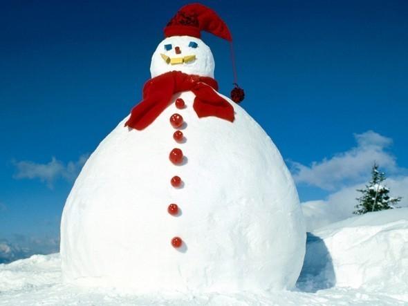 Мужичок - Снеговичек. Изображение № 1.