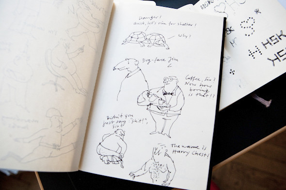 Рабочее место: Юстус Ойлер, арт-директор дизайн-студии Pentagram в Берлине. Изображение № 42.