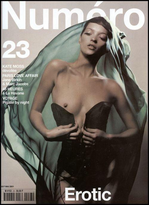 Кейт Мосс, наобложках главных модных журналов планеты. Изображение № 29.