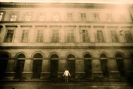Бёрёц Балаж – фотограф автопортретист. Изображение № 5.
