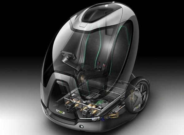 Экологичный концепт EN-V \ Auto. Изображение № 6.