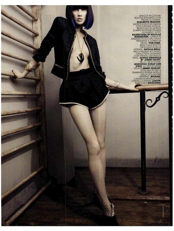 Съемки: Vogue, Numero, Tush и другие. Изображение №48.