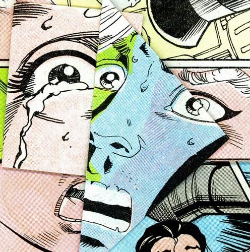 Зловещие и мрачные ретро-иллюстрации, переделанные из детских комиксов. Изображение № 4.