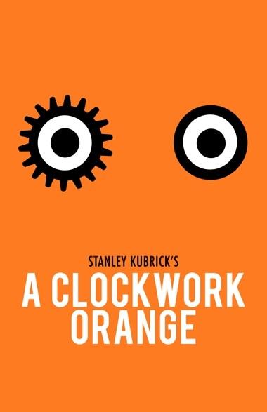 A Clockwork Orange - 20 кинопостеров на тему ультранасилия. Изображение № 4.