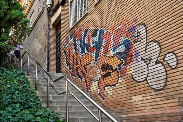 Стрит-арт и граффити Барселоны, Испания. Изображение № 46.