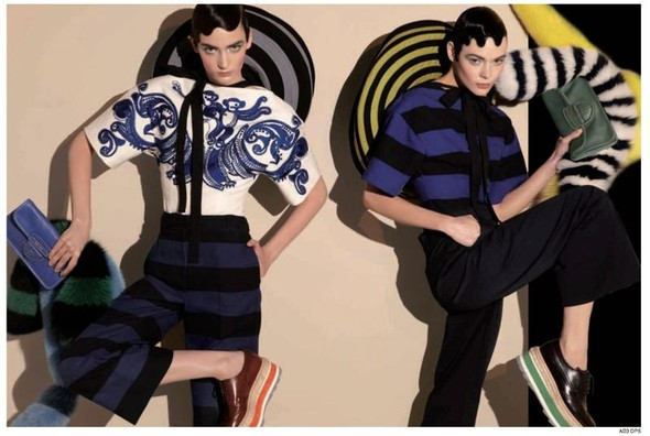 Вышло превью рекламной кампании Prada. Изображение № 3.