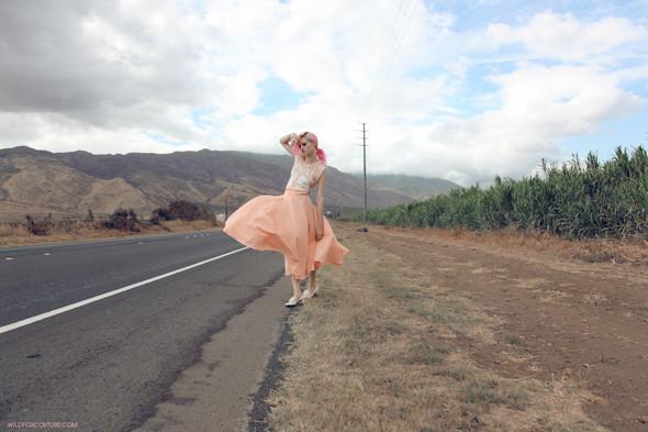 Лукбук: Шарлотта Фри для Wildfox SS 2012. Изображение № 11.