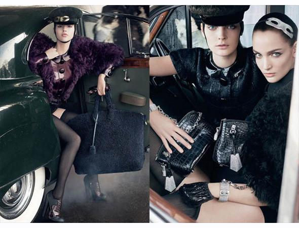Рекламная кампания Louis Vuitton FW 2011. Изображение № 26.