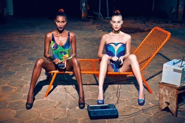 Съёмка: Кармелита Мендес и Барбара ди Креддо для Elle. Изображение № 8.