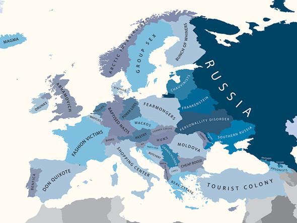 Европа в стереотипах. Изображение № 8.