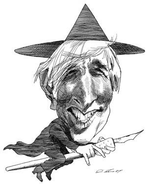 Карикатуры на писателей. Изображение № 13.