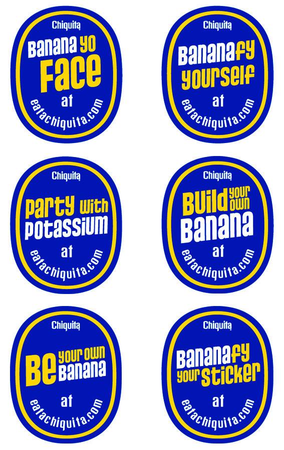 Chiquita: каждому банану - свое лицо. Изображение № 9.