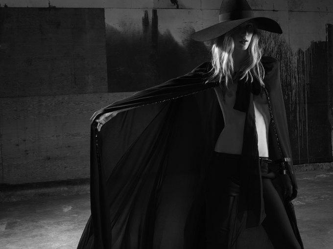 Вышла новая женская кампания Saint Laurent Paris Эди Слимана. Изображение № 2.