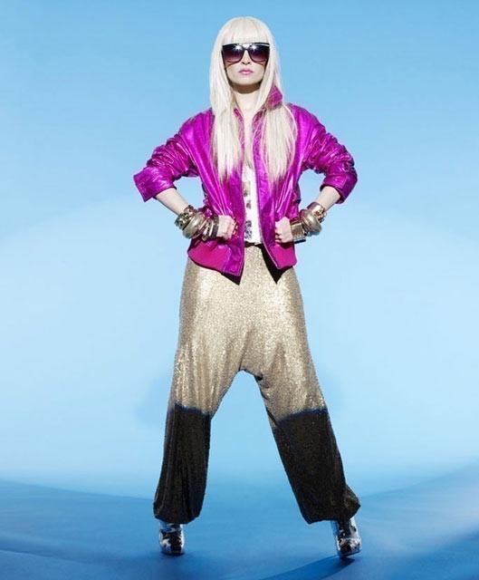 Панк-гламур отНиколь Риччи: Подражая Lady GaGa. Изображение № 8.
