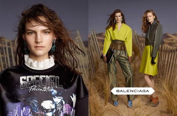 Кампании: Balenciaga, Celine, Dolce & Gabbana и другие. Изображение № 4.