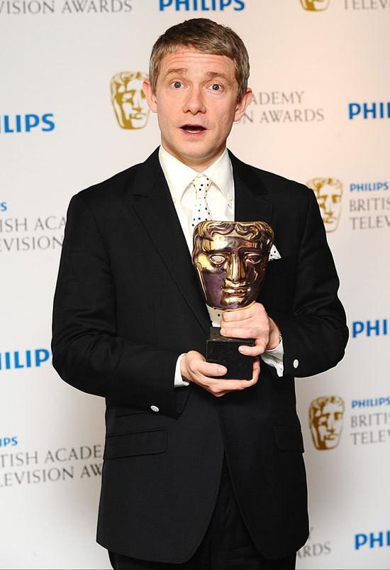 Изображение 4. Актеры «Шерлока» и «Отбросов» награждены британской киноакадемией.. Изображение № 4.
