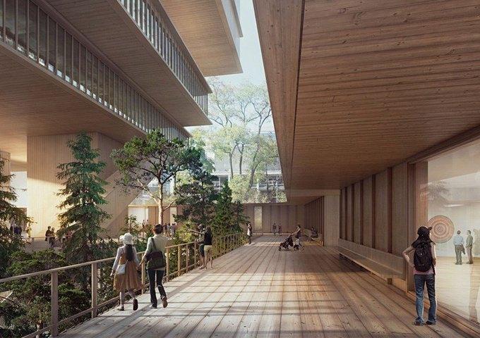 Архитектура дня: ступенчатая галерея в Ванкувере. Изображение № 3.