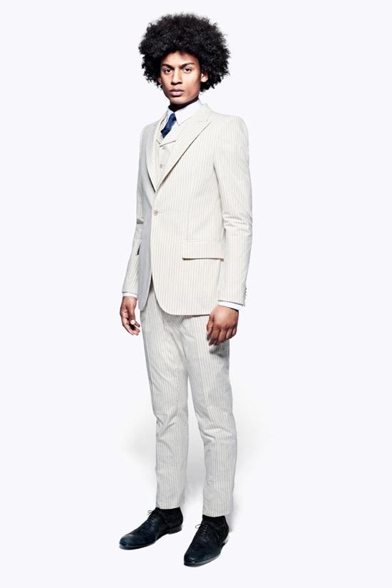 Мужские лукбуки Alexander McQueen, Comme des Garcons, Louis Vuitton и Club Monaco. Изображение № 4.