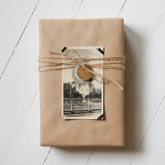 55 идей для упаковки новогодних подарков. Изображение № 61.