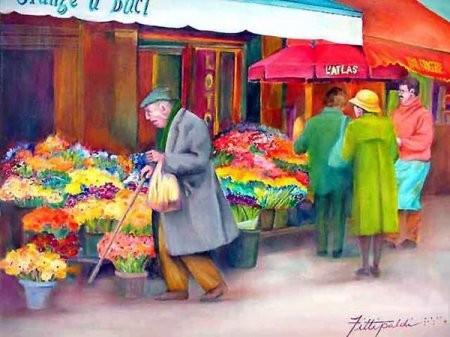 Lisa Fittipaldi - слепой художник. Изображение № 1.