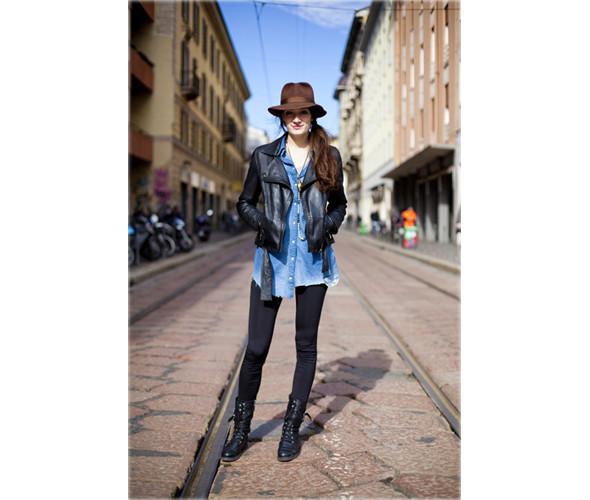 Уличный стиль с трех Недель Моды. Изображение № 107.