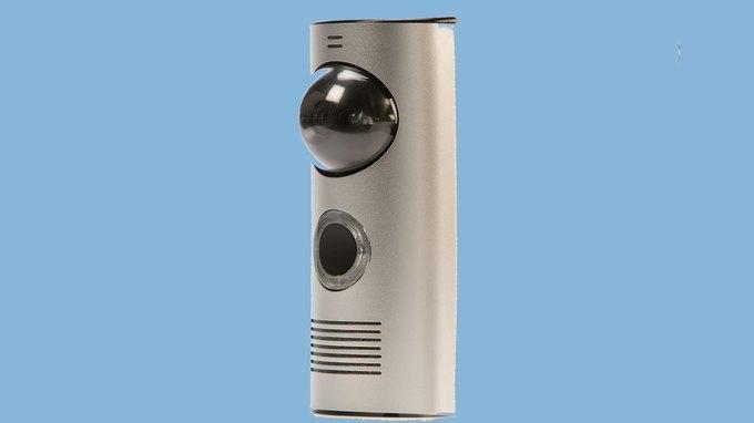 Умный дверной звонок позволяет хозяевам отвечать даже вне дома. Изображение № 1.
