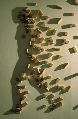 10 художников, создающих оптические иллюзии. Изображение № 9.