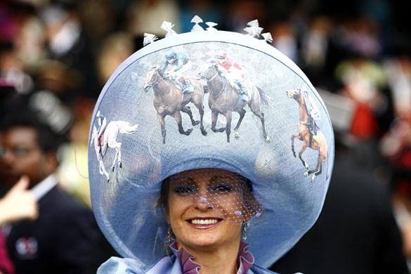 Самые необычные иизысканных шляпки Royal Ascot. Изображение № 40.