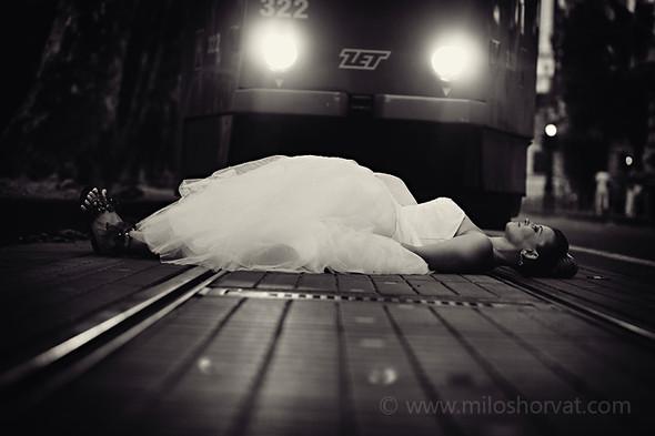 Милош Хорват: свадебная фотография вне времени. Изображение № 3.