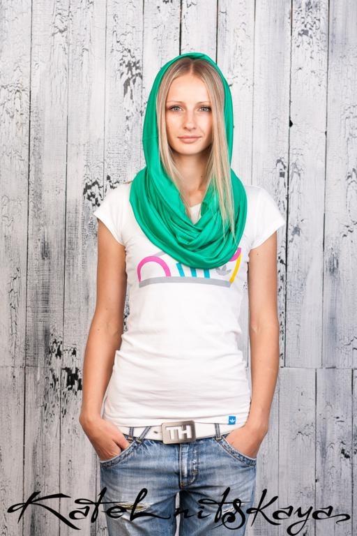 Осенняя коллекция ярких шарфов-снудов. Изображение № 21.