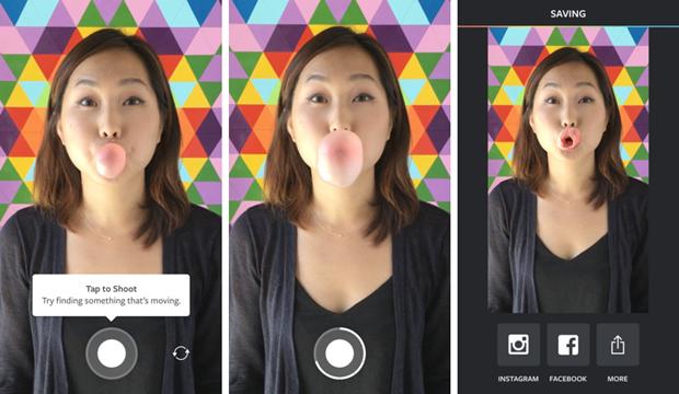 Instagram издал приложение дляанимаций на 10 кадров. Изображение № 1.