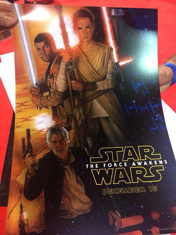 На D23 сняли постер VII эпизода «Звёздных войн». Изображение № 1.