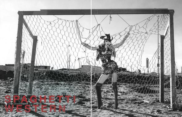 Спагетти Вестерн в Vogue Nippon. Изображение № 1.