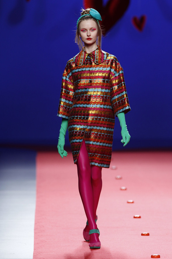 Испанцы Fall Winter 2011/2012: AGATHA RUIZ DE LA PRADA. Изображение № 24.