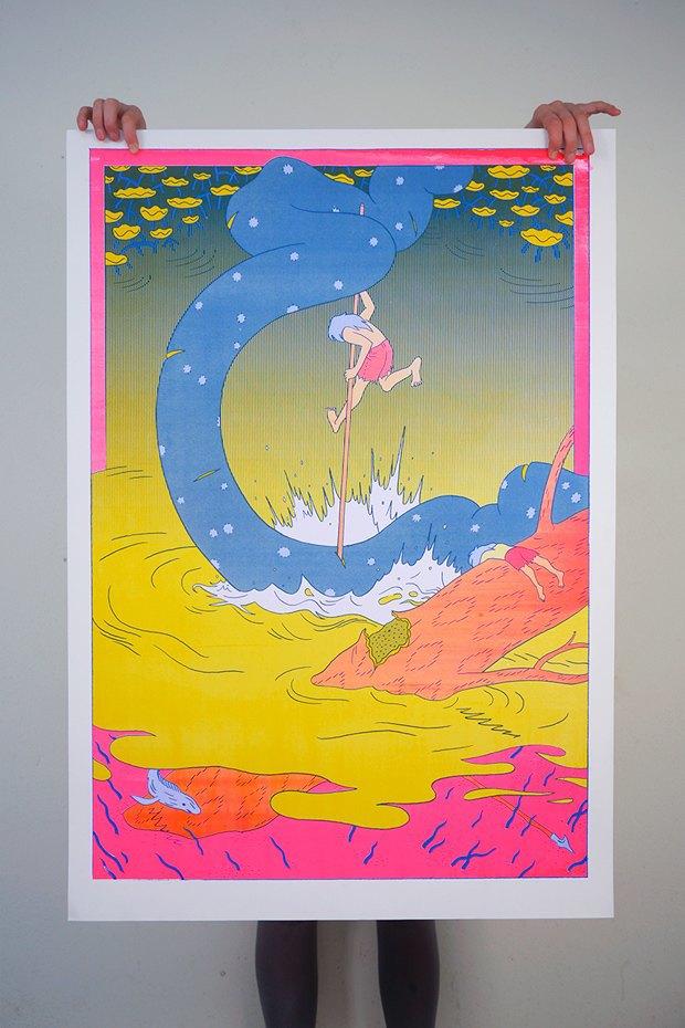 50 постеров, которые вдохновляют заняться шелкографией. Изображение № 46.
