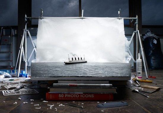 "«Последний снимок ""Титаника"" на воде» (1912) Фрэнсиса Броуна. Изображение № 7."