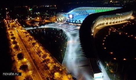 Стадион насолнечных батареях. Изображение № 7.