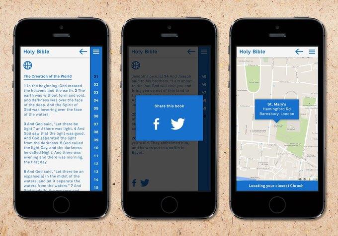 По Библии создано мобильное приложение. Изображение № 4.