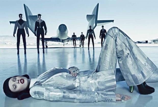 Новые съемки Dazed & Confused, Vogue, i-D и W Magazine. Изображение № 49.