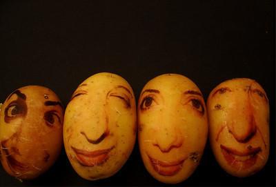 Картофельные портреты. Изображение № 8.