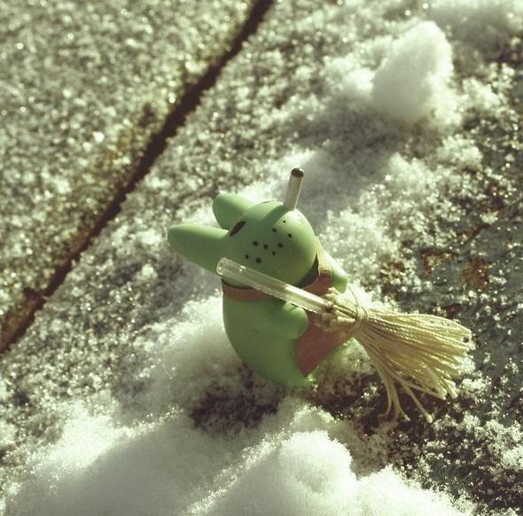 """Fotoigra, """"снег"""". Изображение № 1."""