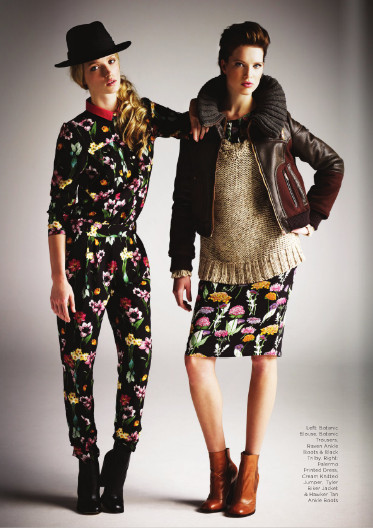 Лукбук: River Island AW11 womenswear. Изображение № 6.