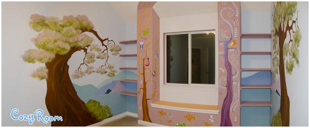 Детская комната по мотивам мультфильма «Рапунцель. Запутанная история». Изображение № 11.