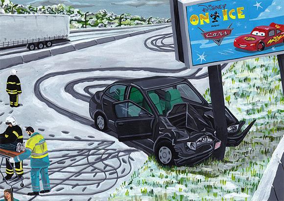 Босх 2.0: Иллюстрации-комиксы Брехта Ванденбрука. Изображение № 5.