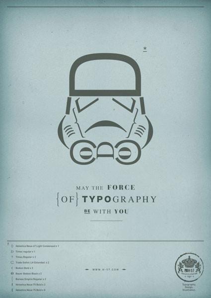 Да пребудет с вами сила типографики!. Изображение № 3.